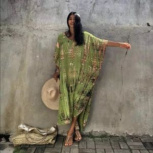Zinnia Envy Bohemian Kaftan Kimono Robe Coverup